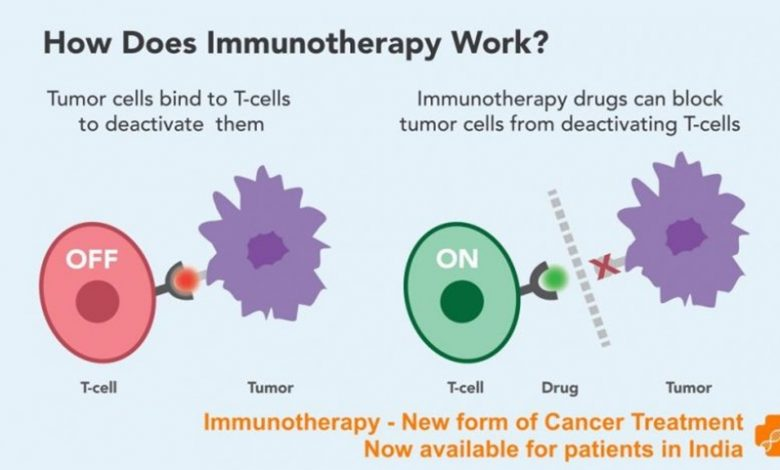Photo of Immunotherapy to treat cancer.