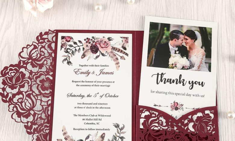 Photo of How To Get The Best Wedding Invitations With Photos For Your Wedding
